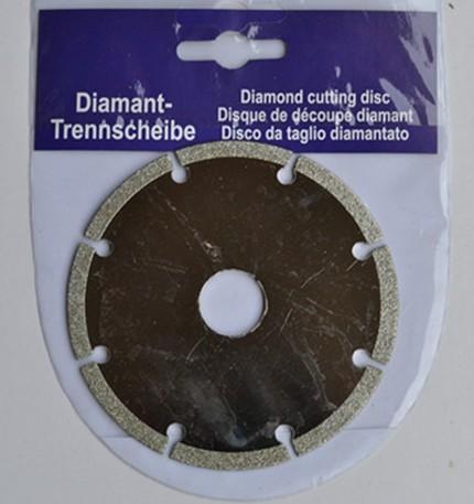 3-Zoll-Diamant-Sägeblatt-Schneid-Steinsäge-Galvanisierung dünnglasschneider Werkzeuge Cutter 100mm