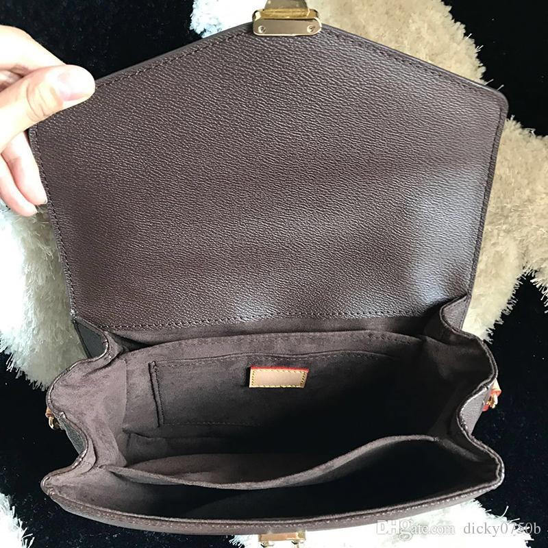 Comercio al por mayor Nueva orignal auténtica de cuero genuino señora messenger bag moda satchel bandolera bolso presbyopic paquete teléfono móvil monedero