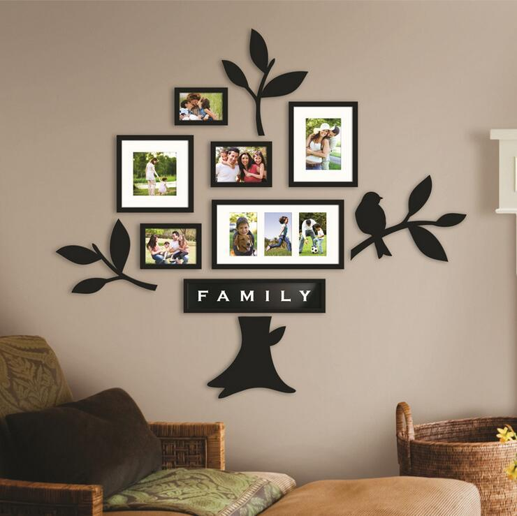 Family Tree Frames For Wall 2017 art frames wall mounted family tree photo wall mounted frames