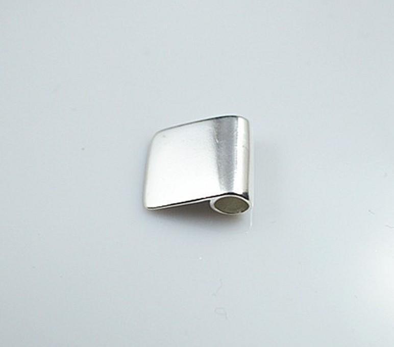La apertura: 5 mm, 10 * 17 mm Xiaoping hebilla plateada colgante pegamento en fianzas, pegamento en fianza para colgante