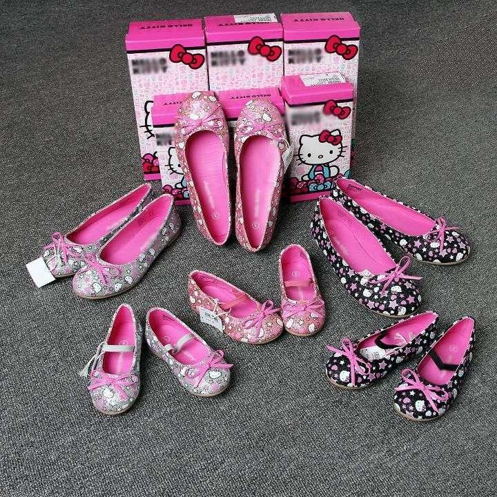 Zapatos azules Hello Kitty infantiles sf7RlfBIjl