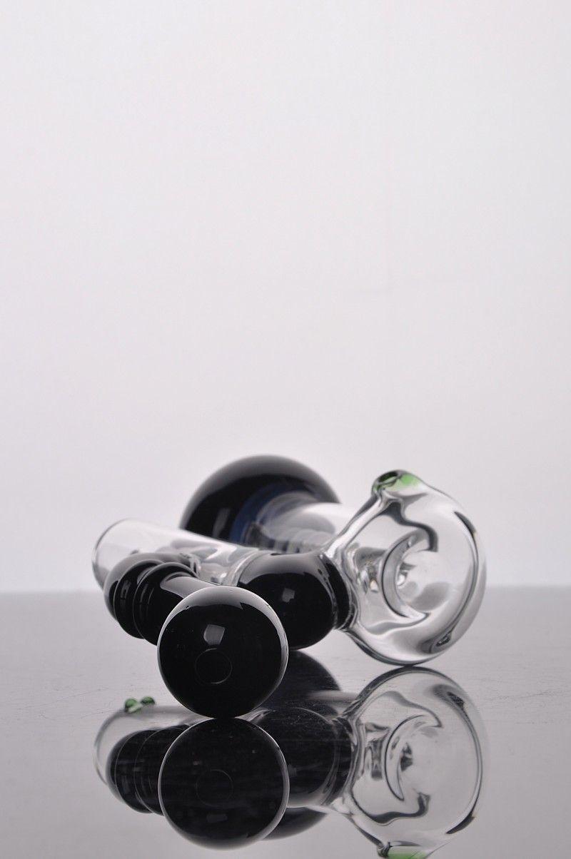담배 파이프 특유의 단련 형 흡연자 그립 소형 간이 파이프 검정 흰색 사랑스러운 초록색 금연 봉봉 무료 배송