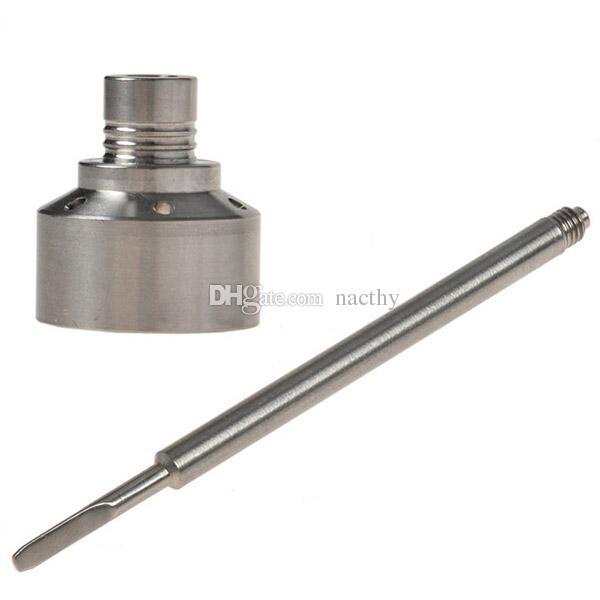Prezzo di fabbrica GR2 titanio chiodo cap cappuccio 18 millimetri universale narghilé vetro bong fumo tubi di vetro tubi di vetro