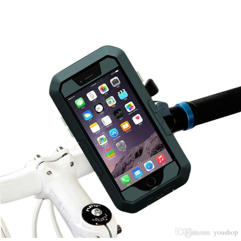 Bisiklet Bisiklet Dağı Su Geçirmez Kılıf Kapak Bisiklet Tutucu Darbeye Vaka iphone 6 S Artı