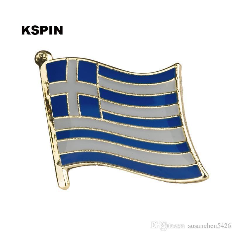 Spedizione gratuita il distintivo bandiera KS-0192 di bandiera metallo bandiera di Singapore