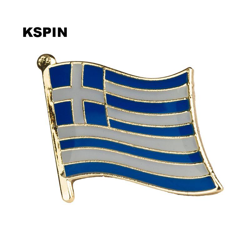 Spedizione gratuita l'Uruguay Metal Flag Badge Flag Pin KS-0188