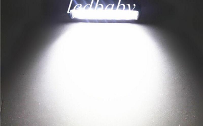 18 W CREE LED İş Işık Bar JEEP Nokta Taşkın Işın Sis Lambası 12 V 24 V 6LED * 3 W 1600lm IP67 OffRoad Motosiklet Kamyon Sürüş