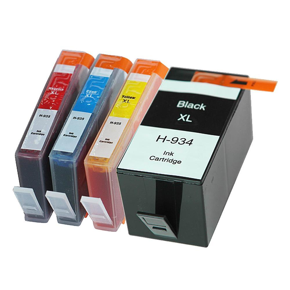 2017 4pk Compatible Ink Cartridge For Hp 934xl 935xl For