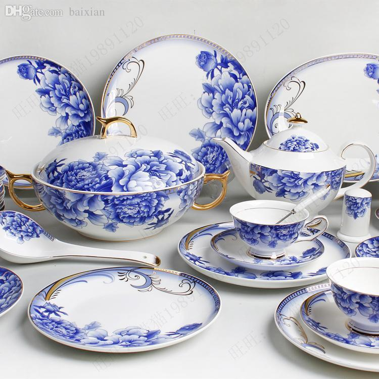 Wholesale Bone China Tableware 107 Coffee New Classic Blue And White Porcelain Tableware Glaze Blue Tableware Quality Dinnerware Sets Red And White ...  sc 1 st  DHgate.com & Wholesale Bone China Tableware 107 Coffee New Classic Blue And White ...