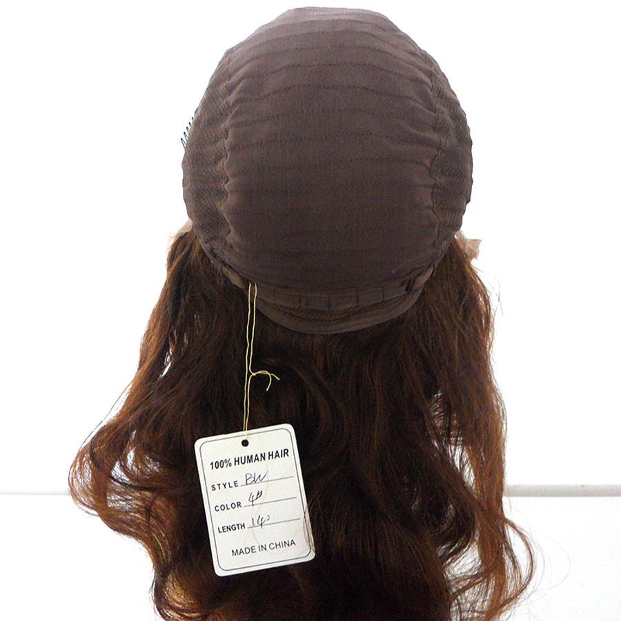 10A 100% Virgin İnsan Saç Tam Dantel Peruk Brezilyalı Perulu Malezya Siyah Kadınlar Için Hint Kamboçyalı Düz Tutkalsız Dantel Ön Peruk