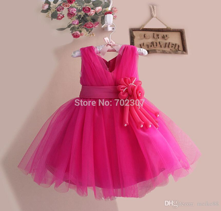 Großhandel 2015 Neueste Kleid Entwurfs Einzelverkauf Mädchen Kleid ...