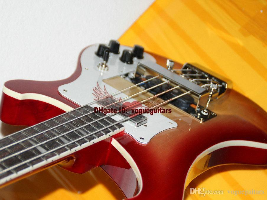 Personnalisé 4 Cordes 4003 Basse Électrique Guitare Cerise éclatement Personnalisé Haute Qualité Livraison Gratuite A123