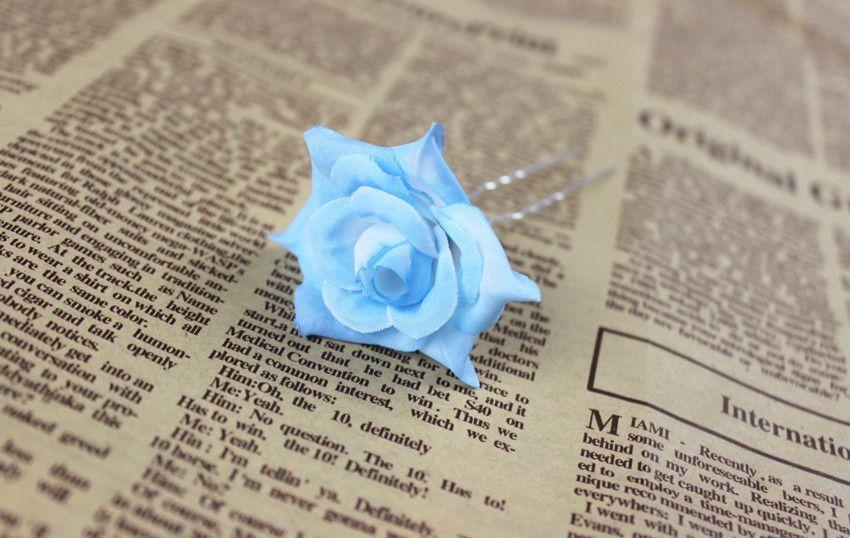 최고 품질 꽃 분홍색 모자 신부 왕관 결혼식 용 액세서리 빛나게 다섯 무료 배송을 WWL을 설정합니다