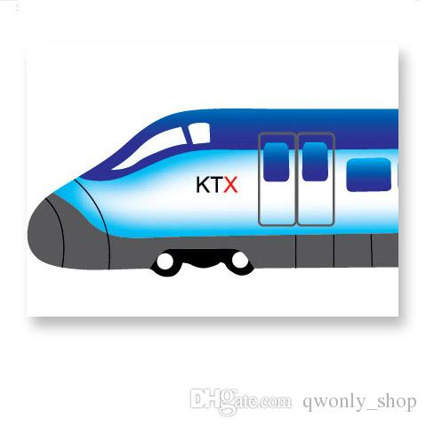 Cars Train Motor Bike Ship Transportation Wall Stickers for Kids room Decoration Decals Children Wall Art Car Sticker