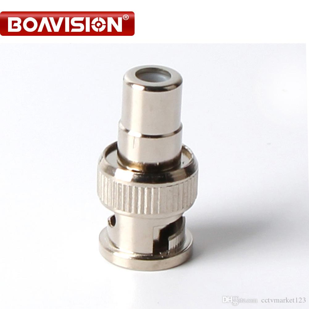 Wholesale Rca Female To Bnc Male Cable Connector Dvr Cctv Adapter ...