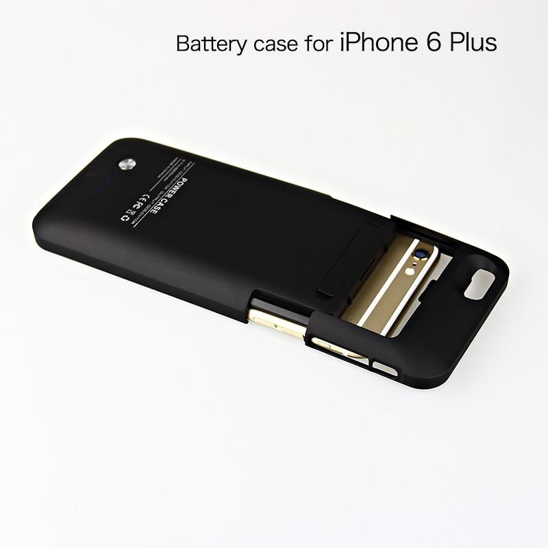 4000mAh power banks cover battery case for iPhone 6 plus charger case for iPhone6 + battery back cover case with retail packaging BAC020