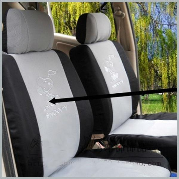 1 X Universal Auto Car Seat Cover Snoopy Seat Cover 4