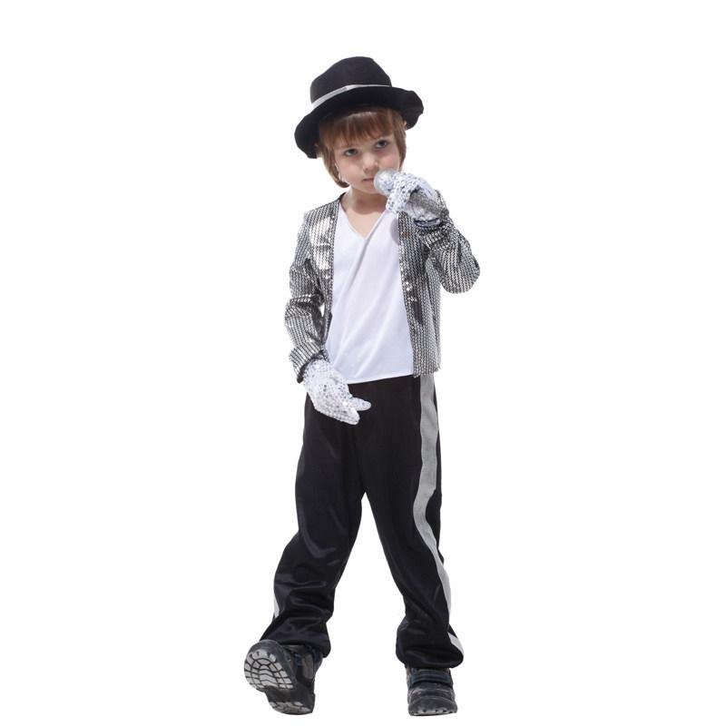 Michael Jackson Costume for Kids Stage Performance Clothing Halloween Costumes Singer Dance Costumes for Children in Stock Michael Jackson Costume Singer ...  sc 1 st  DHgate.com & Michael Jackson Costume for Kids Stage Performance Clothing ...