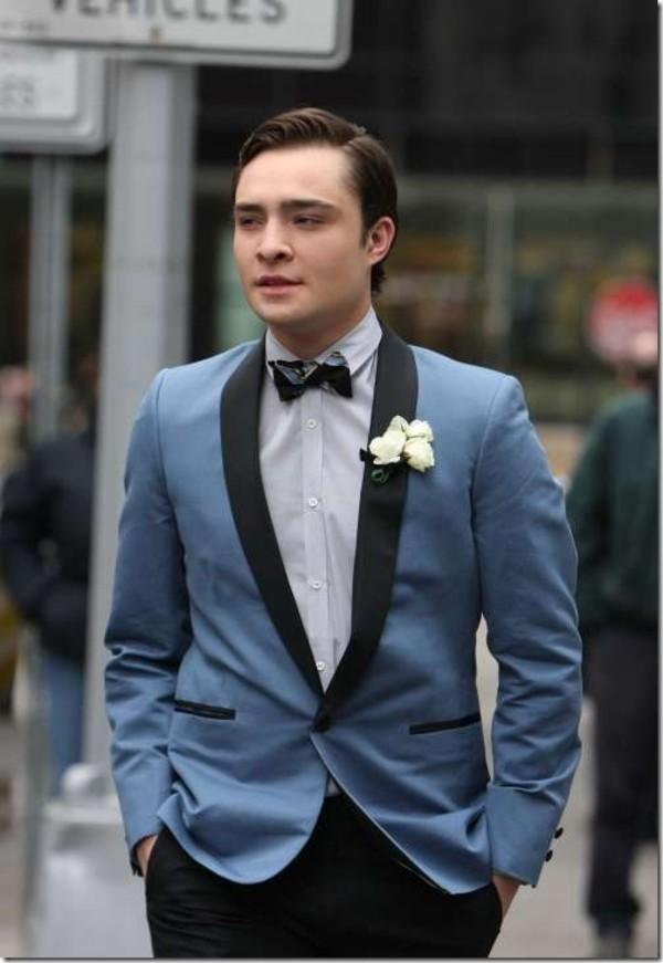 Slim Fit Light Blue Wedding Suits For Men Shawl Lapel Mens Wedding ...