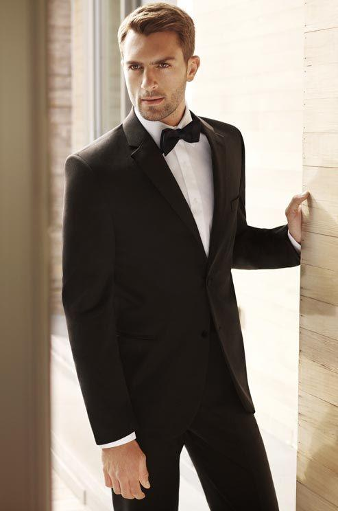 Semiformal Wedding Tuxedos 2015 Classic Men Suit Notchec Lapel Style