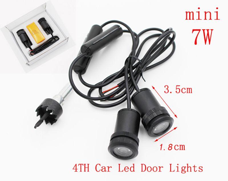 kia kx5 kx3 K5 K3 K2 LED 자동차 환영 레이저 프로젝터 그림자 외부 인테리어 액세서리 빛에 대 한 LED 자동차 도어 조명