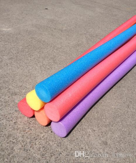 Discount Pool Noodle Swimming Training Exercise Foam Water Noodle Kids Adults Aid Float Pool Fun