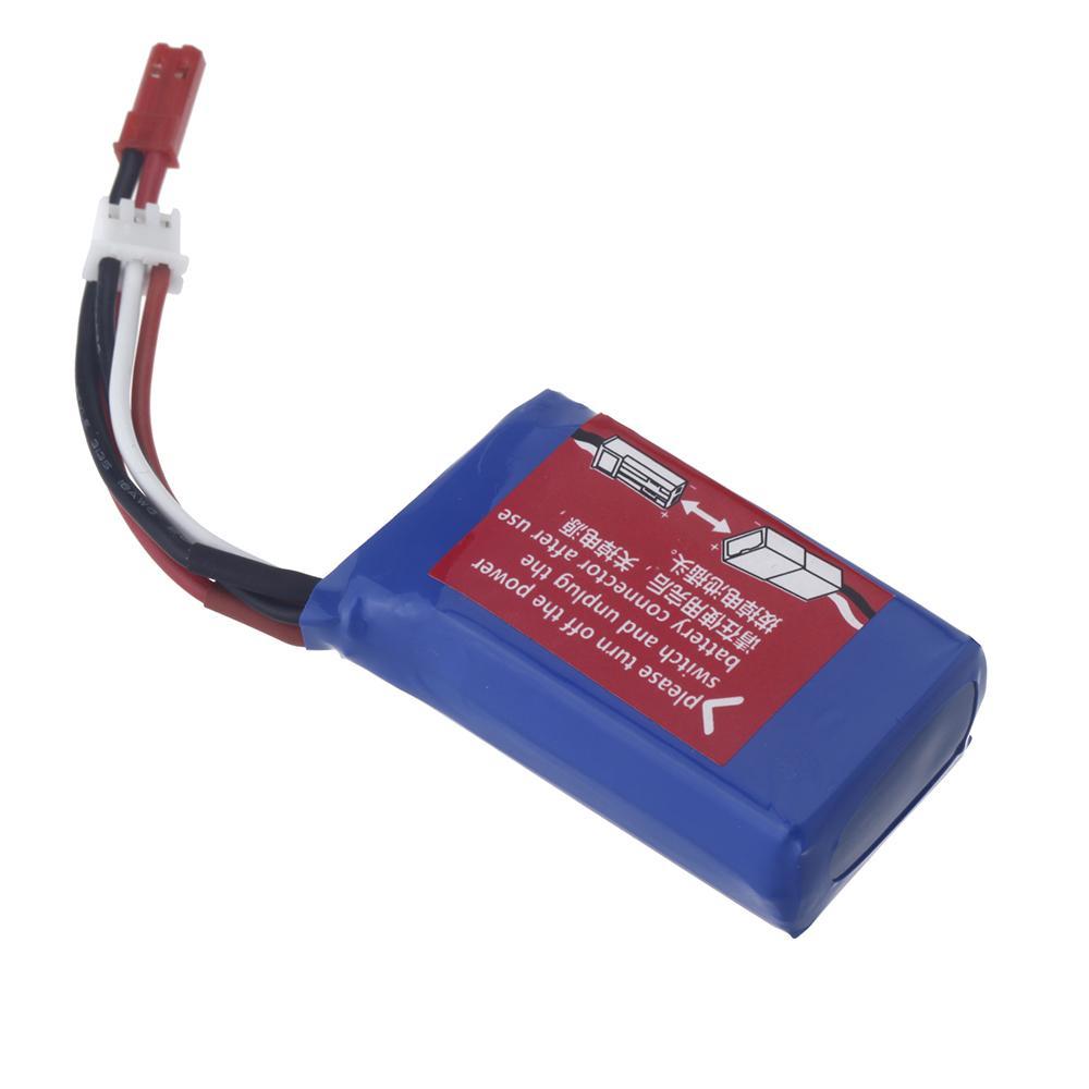 Wltoys universal 1/18 rc lipo bateria do carro 7.4 v 1100 mah jst plug a949 27 parte para wltoys rc carro a949 a959 a979 a979 k929 parte ordem $ 18no tra
