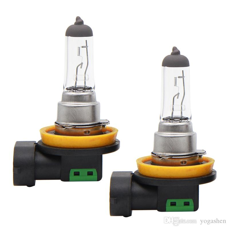 Lymoyo 2pcs Auto H16 Halogen Bulbs 12v 19w 4300k Xenon Fog Lamp Drl Fog Light Car Hod Headlight Lamp Daylight Clear Warm White