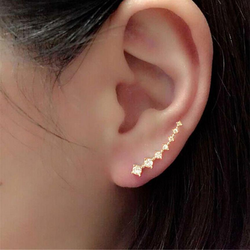 Cute Simple Design Of Gold Ear Top Pictures Inspiration - Jewelry ...