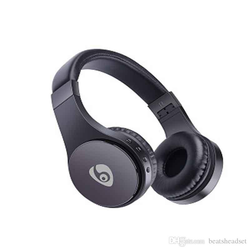 High Quality S55 Wireless Headphones Foldable Sports Bluetooth Headset Build-in Mic Earphones for Phone hands Free DHL