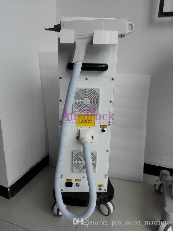 EU tax 1064nm 532nm 1320nm Vertical Q switch Yag Laser Tattoo Removal machine eyebrow removing beauty equipment