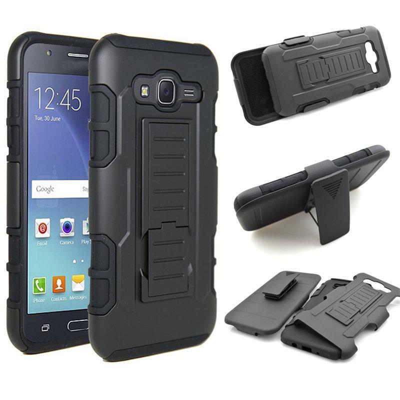 For Samsung J3 J5 J7 Future Armor Hybrid Hard Phone Case