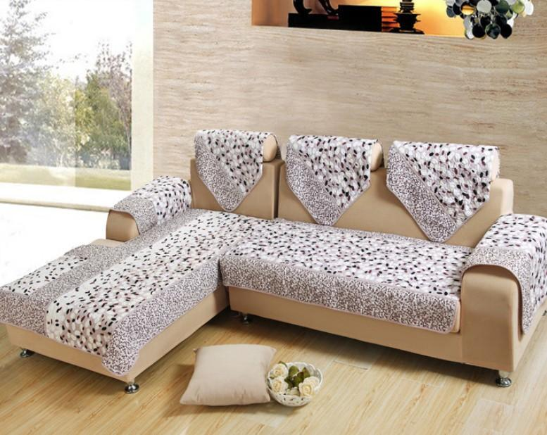 Cheap Sofa Cover Couch Cover Cape Polyester Fabric Stone Pattern Quilted  Slipcover L Shape Sectional Factory Direct Machine Washable Rent Chair  Covers