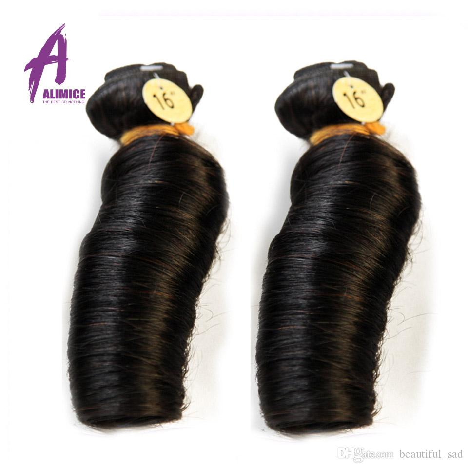 Grade 7A Unprocessed Virgin Hair brazilian Malaysian Spring Curly Fumi Hair Malaysian Virgin Human Hair Bundle Aunty Fumi Hair Bouncy Curl