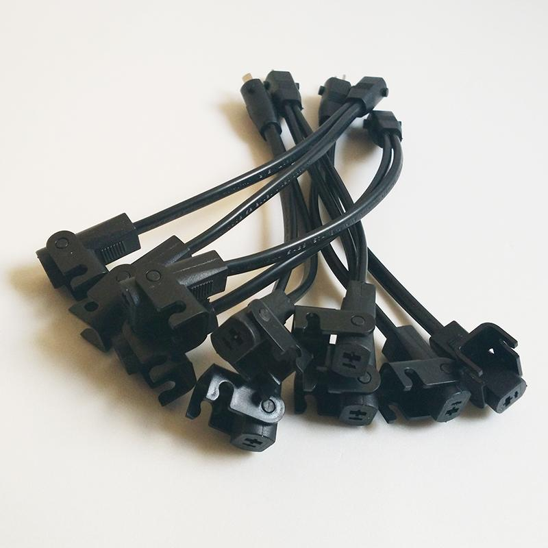 Recliner-Controller Griff 2 Pin Splitter Blei Y-Form-Verlängerung Verlängerungskabel für Switch-Netzteil-Adapter Elektro-Lehnstuhl Aufzug Stuhl