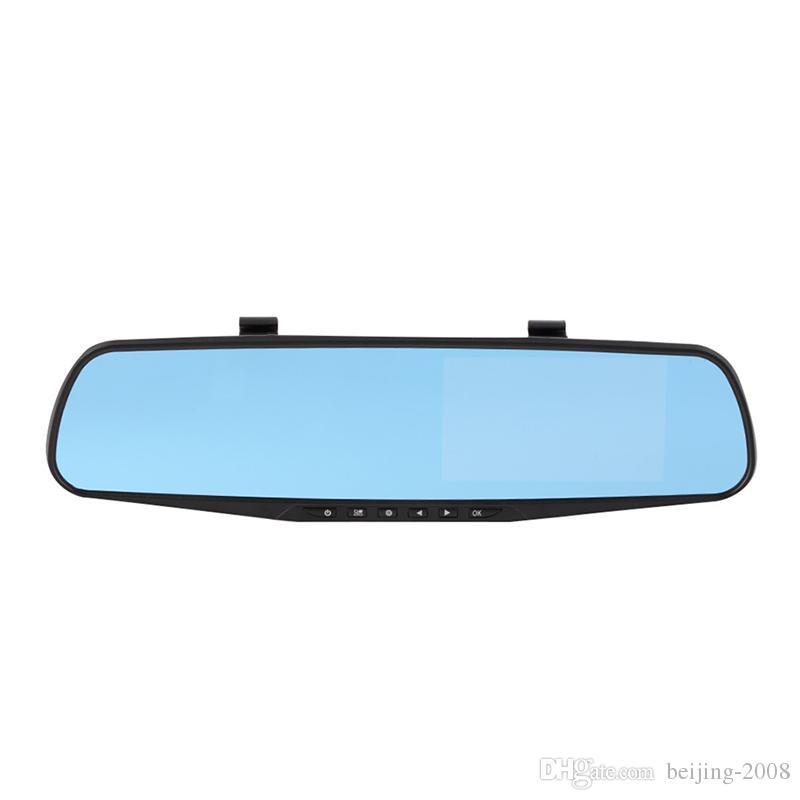 Full HD 1080P Dvr Car Mirror Cámara dual 4.3