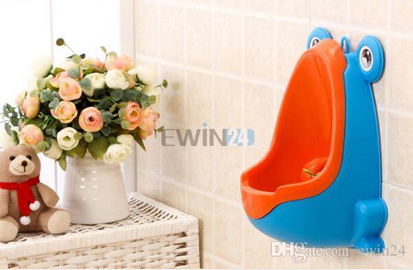Schnell verkaufend! Frosch Kinder Töpfchen Wc Training Kinder Urinal Für Jungen Pee Trainer Tragbare Wandbehang Art