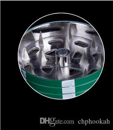 Smerigliatrice portatile dei denti 40mm del metallo della lega di zinco del rivelatore di fumo rotto piccolo delle carte di chip