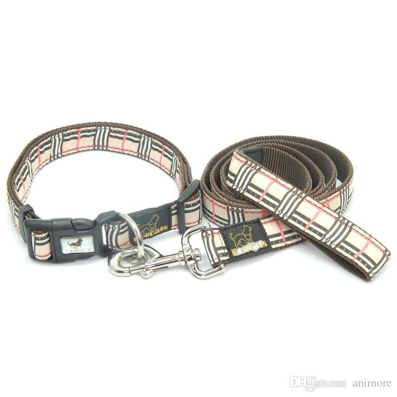 Pet Collar and Leash Set Ajustable Breakaway Collars for Dogs Small Medium Extra Large Sizes Available,Brand product