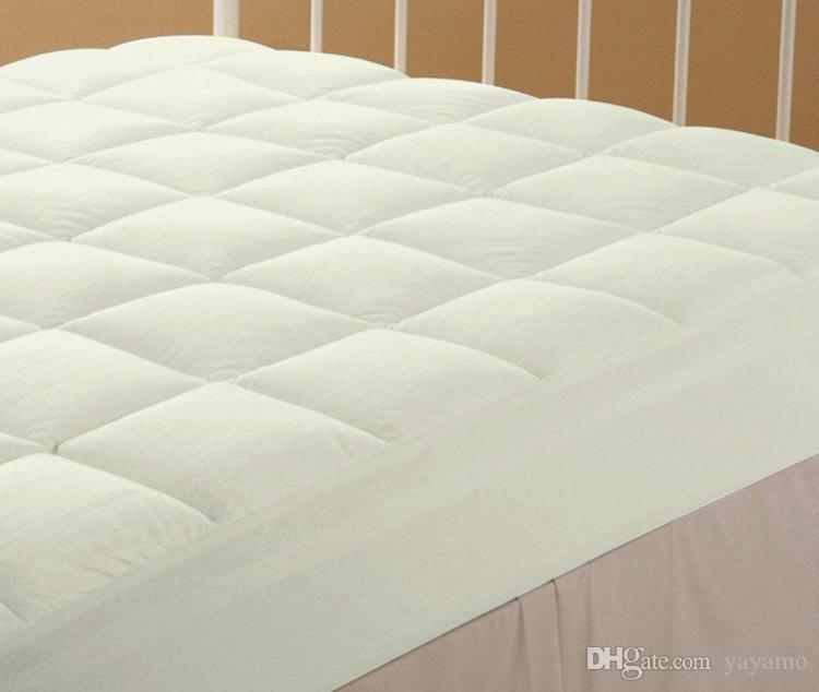 quilted mattress pad. 2018 Thick Quilted Mattress Pad Fitted Anti Skid Hotel Protective Cover From Yayamo, $149.16 | Dhgate.Com N