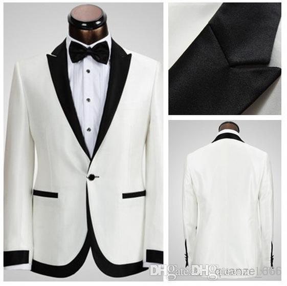 Shop Men\'s Suits & Blazers Online, Wholesale White Groom Suit ...