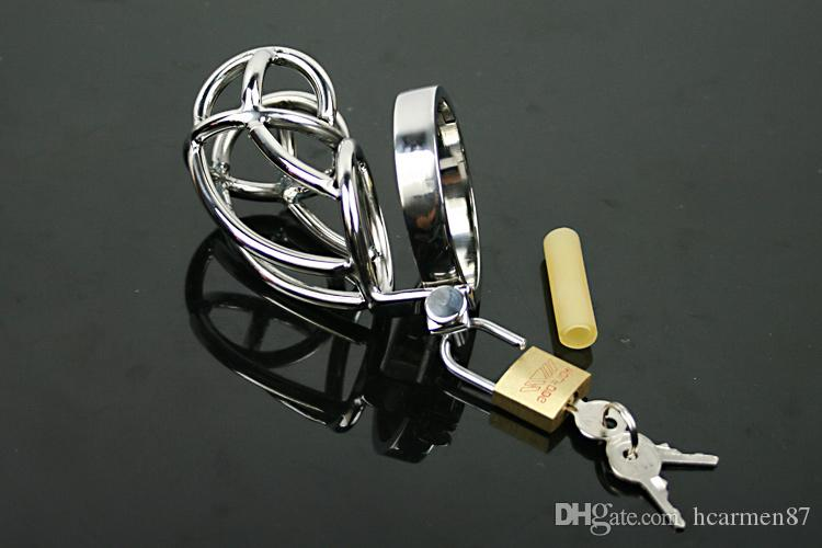Metal Male Chastity Device Cock Cage Male Chastity Belt Bondage Gear For Men Penis Ring Stainless Steel BDSM Chastity Cage Sex Toys SM