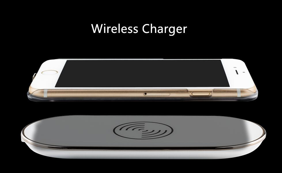 ultra slim qi wireless charging receiver case for iphone 6. Black Bedroom Furniture Sets. Home Design Ideas