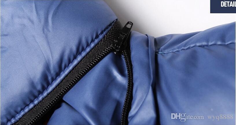 2018 Mens hooded coat jacket Winter Jacket Men Cotton Brand Clothing Jackets Mans cotton Coats