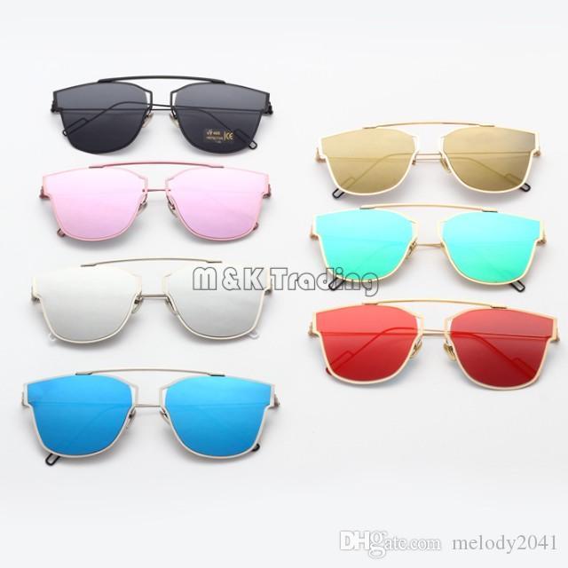 fa0e5bb330 Europe Trendy Reflective Sunglasses For Women And Men D Same Model Luxury  Design Sun Glasses Best Sunglasses Dragon Sunglasses From Melody2041