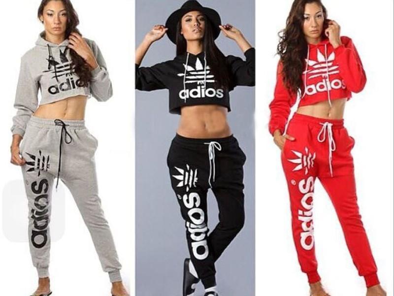 girls adidas crop hoodie
