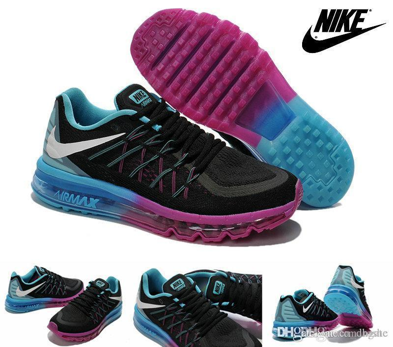 timeless design 026d6 27c18 Nike Air Max 2015 Blue And Purple