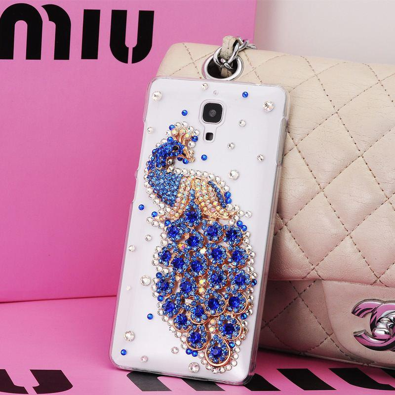 quite nice 73371 84ad5 Case Cover For xiaomi4 xiaomi 4 mi4 m4,New Arrival Luxury Transparent  Crystal Diamond Hard Back Mobile Phone Case