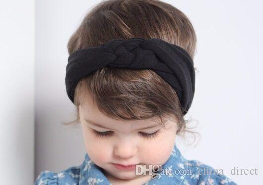 2015 kinder Bandanas Head wrap mädchen breite chic turban Haarband Stirnbänder haarschmuck für frauen mädchen 30 teile / los # 3925