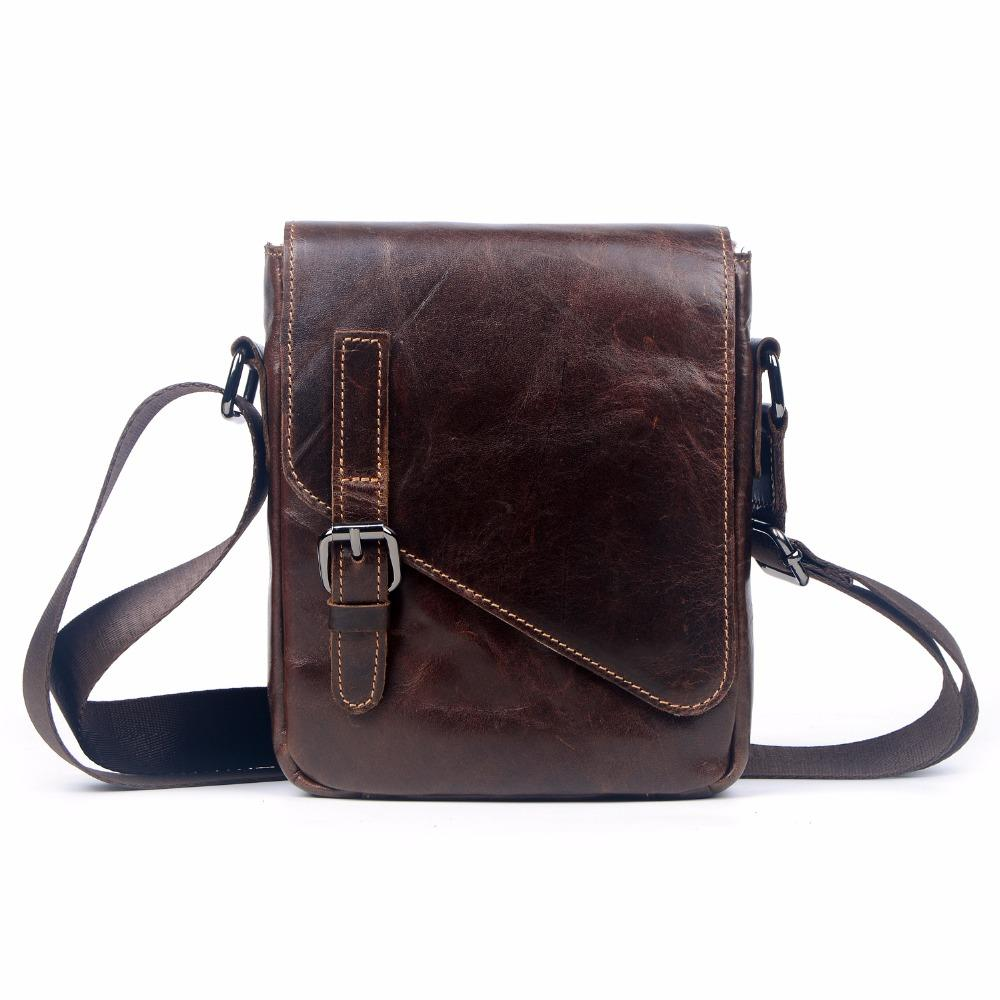 26ab844b48 Wholesale New 2016 Genuine Leather Business Bag For Men Famous Brand  Shoulder Messenger Bags Male High Quality Cowhide Crossbody Bag Crossbody  Purse Cute ...